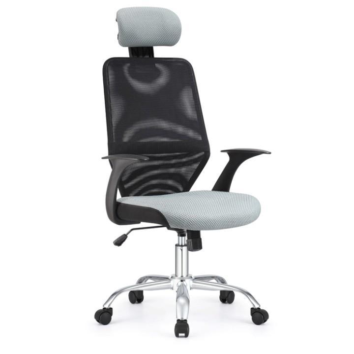 Irodai szék, fekete/szürke, REYES