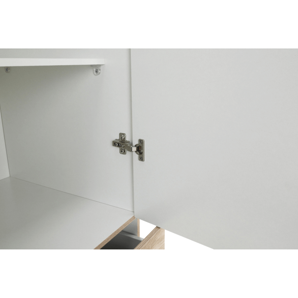 Skříň, 3 - dveřová, dub sonoma, GWEN 70427, TEMPO KONDELA