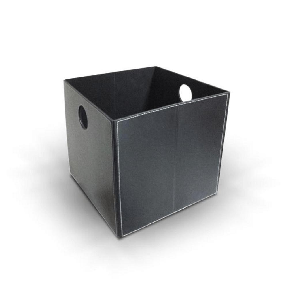 Úložný box, černý TOFI-LEXO, TEMPO KONDELA