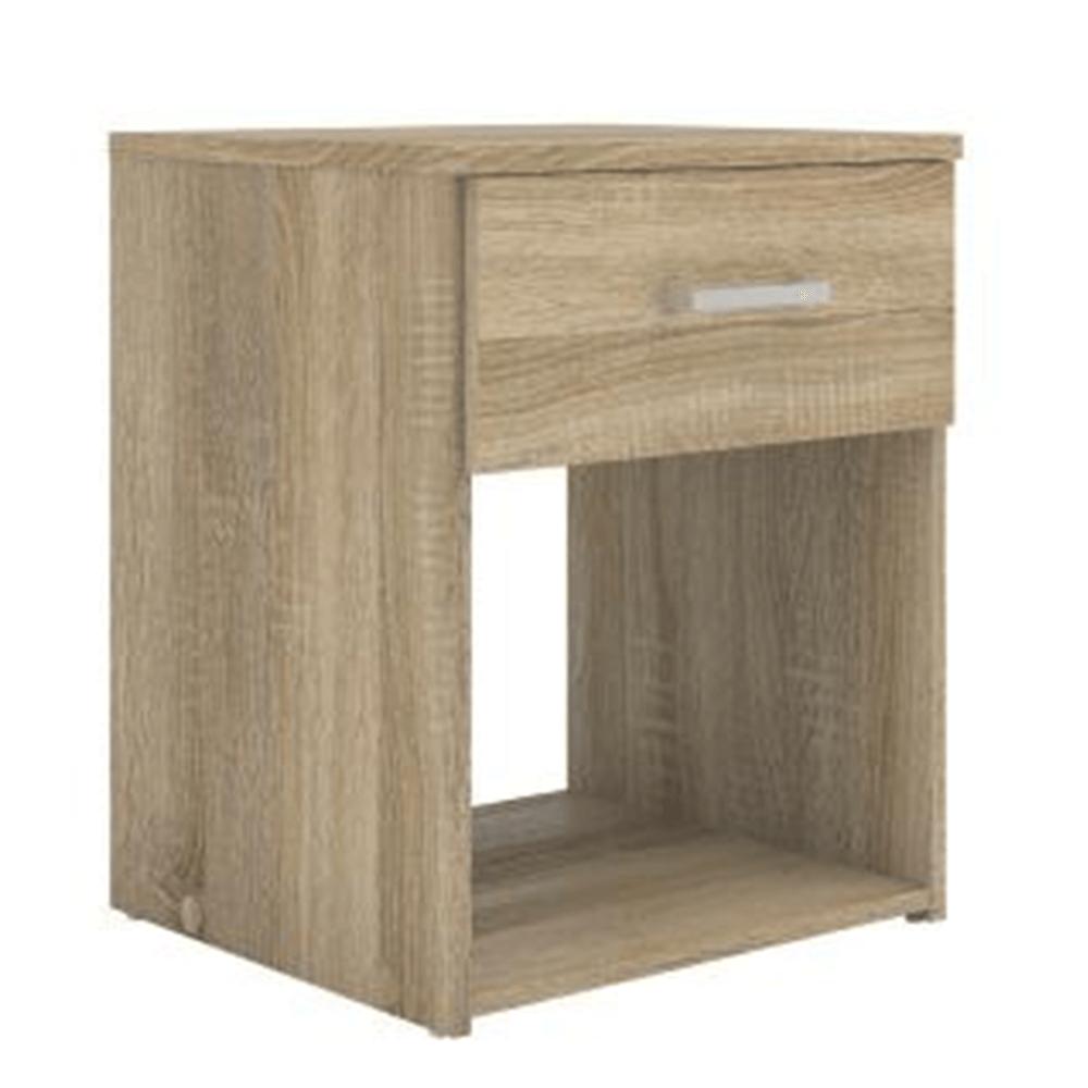Noční stolek, dub sonoma, GARBO