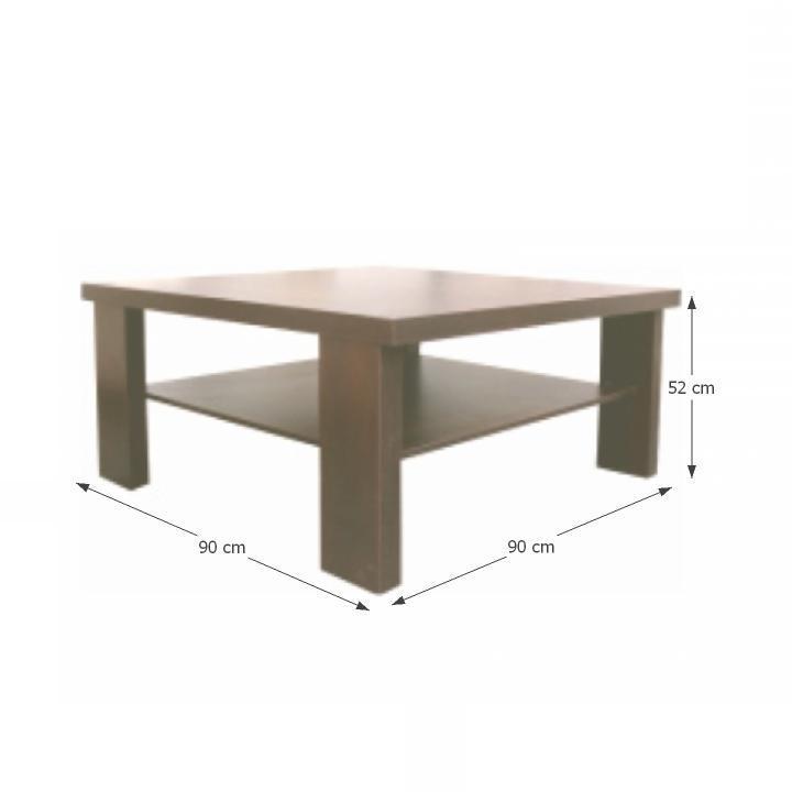 TEMPO KONDELA Konferenčný stolík, dub sonoma, EVEREST TYP 13 - Tempo nábytek