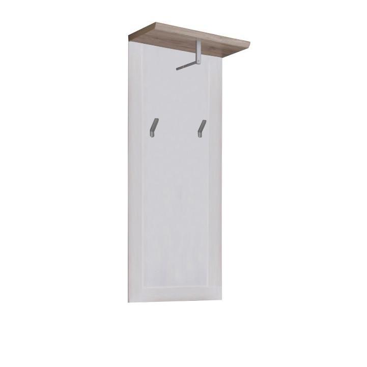 Vešiakový panel, biela/san remo, PROVENSAL