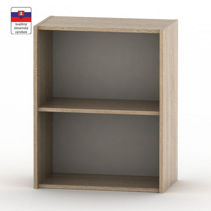 Alacsony szekrény, sonoma tölgyfa, TEMPO ASISTENT NEW 010