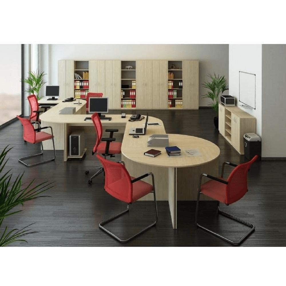 Písací stôl, dub sonoma, TEMPO ASISTENT NEW 021 PI