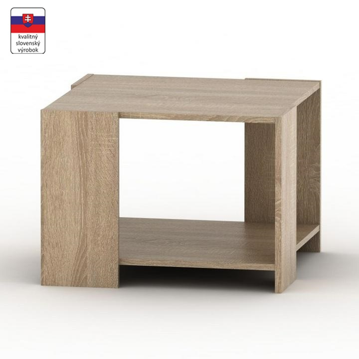 Dohányzóasztal, sonoma tölgyfa, TEMPO ASISTENT NEW 026