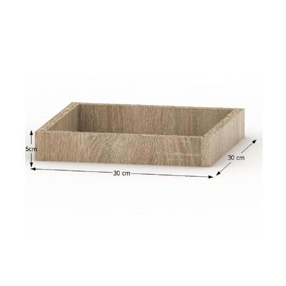 Plintă pentru dulap, stejar sonoma, TEMPO ASISTENT NEW 033