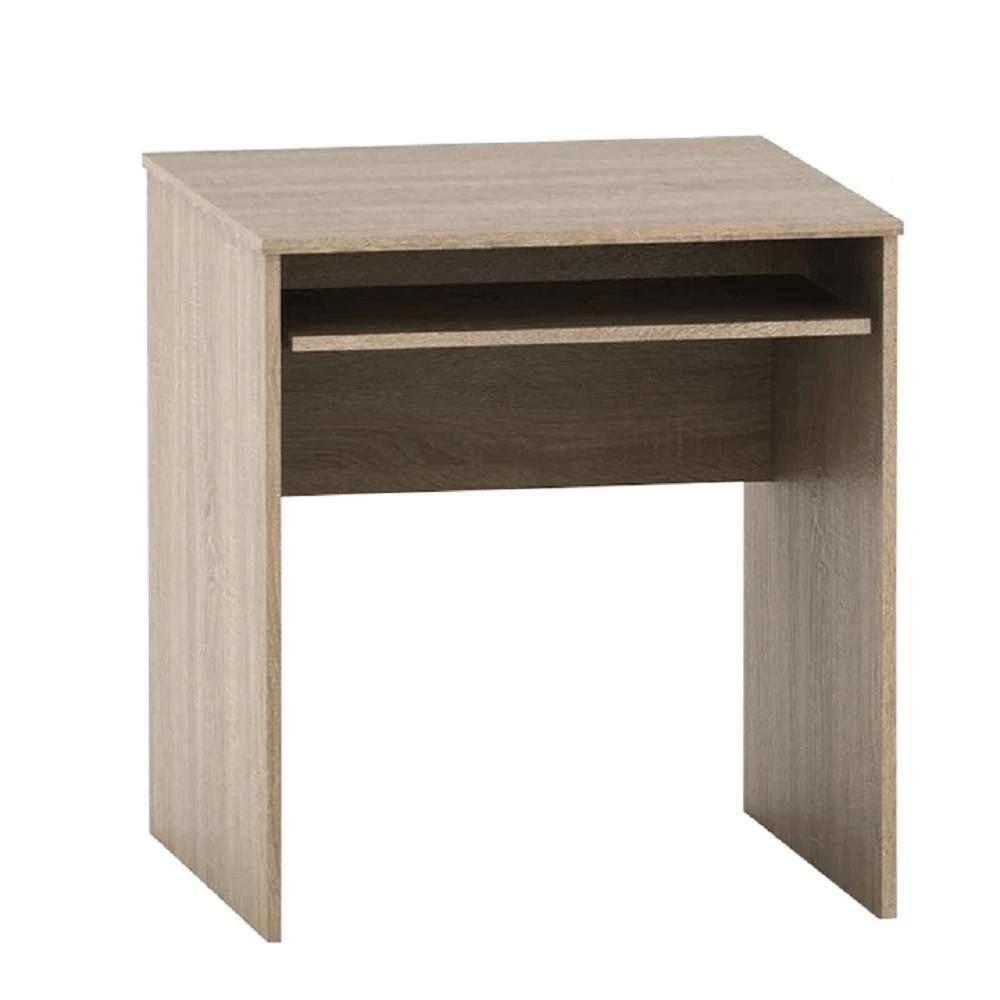 Písací stôl s výsuvom, dub sonoma, TEMPO ASISTENT NEW 023
