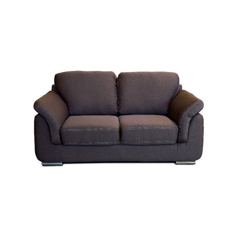 2-ülés,szövet barna/bézsszínű steppelt, VILIS
