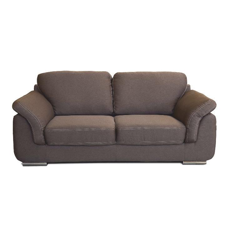 3-ülés, szövet barna/bézsszínű steppelt, VILIS