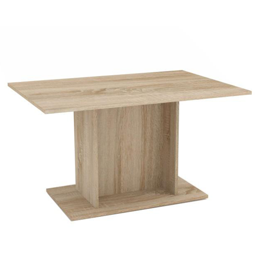 Jedálenský stôl, dub sonoma, MODERN