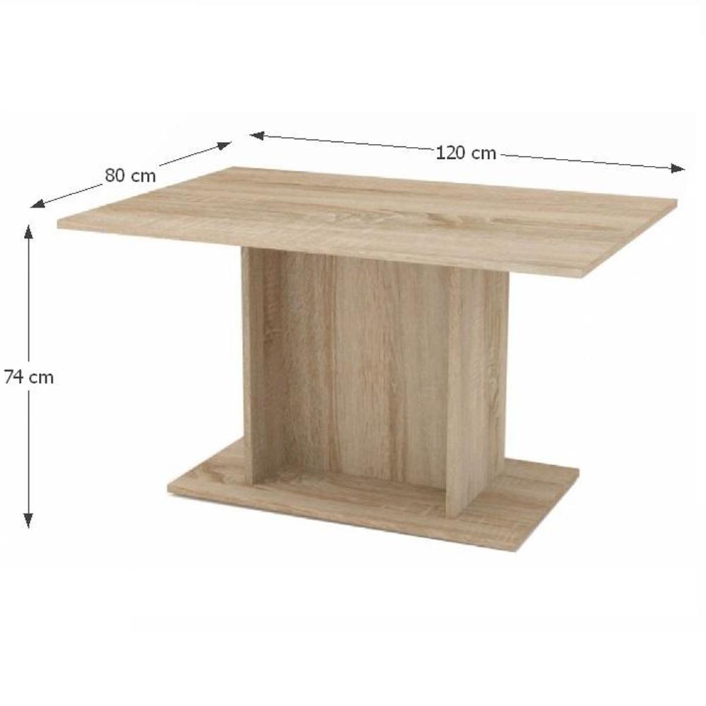 Jídelní stůl, dub sonoma, MODERN, TEMPO KONDELA