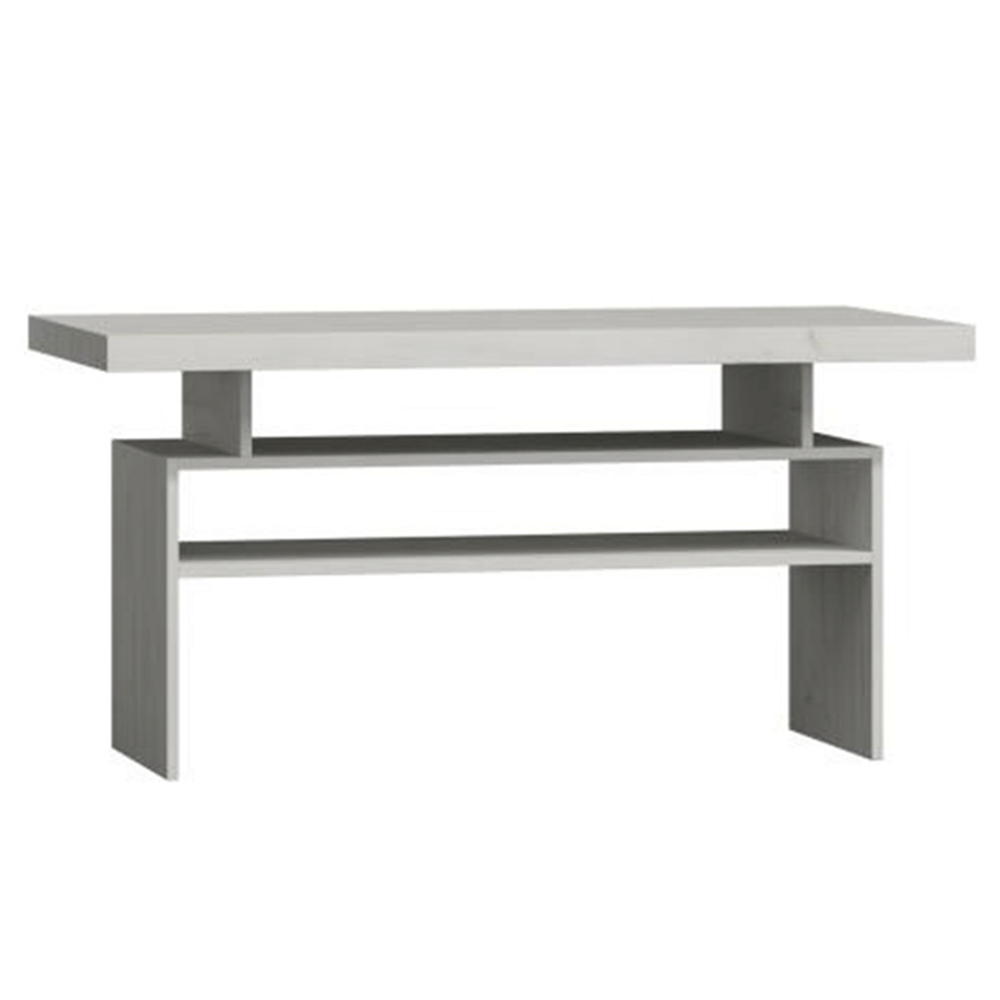 Konferenční stolek, jasan bílý, INFINITY I-13