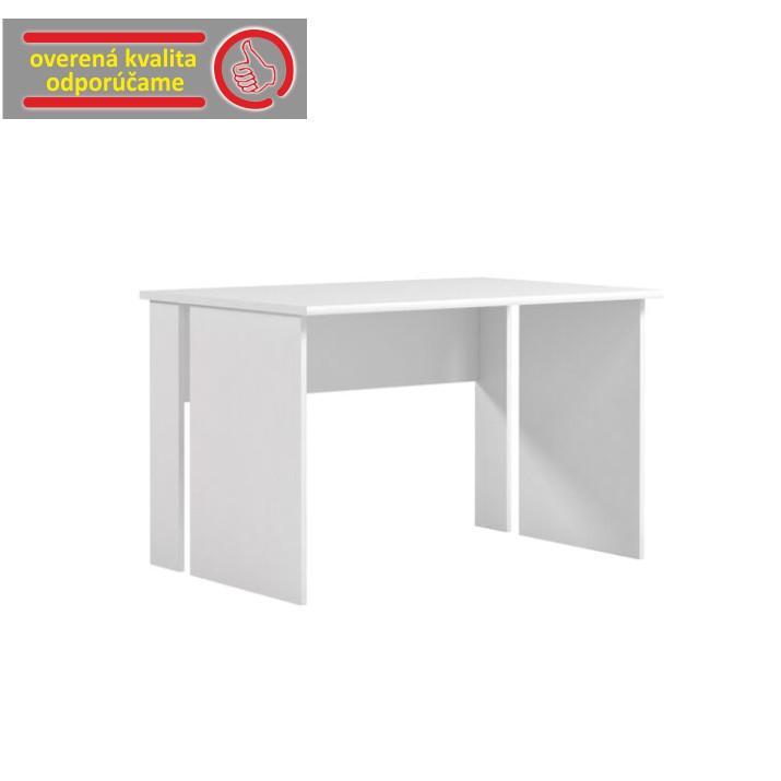 PC stôl, biela, BEK - 08