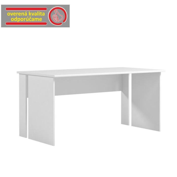PC stôl, biela, BEK - 09