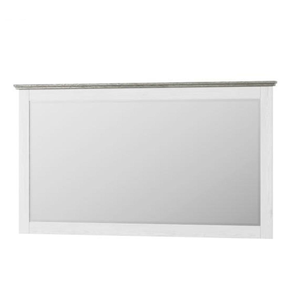 Zrcadlo, bílá, LIONA  LM 28, TEMPO KONDELA