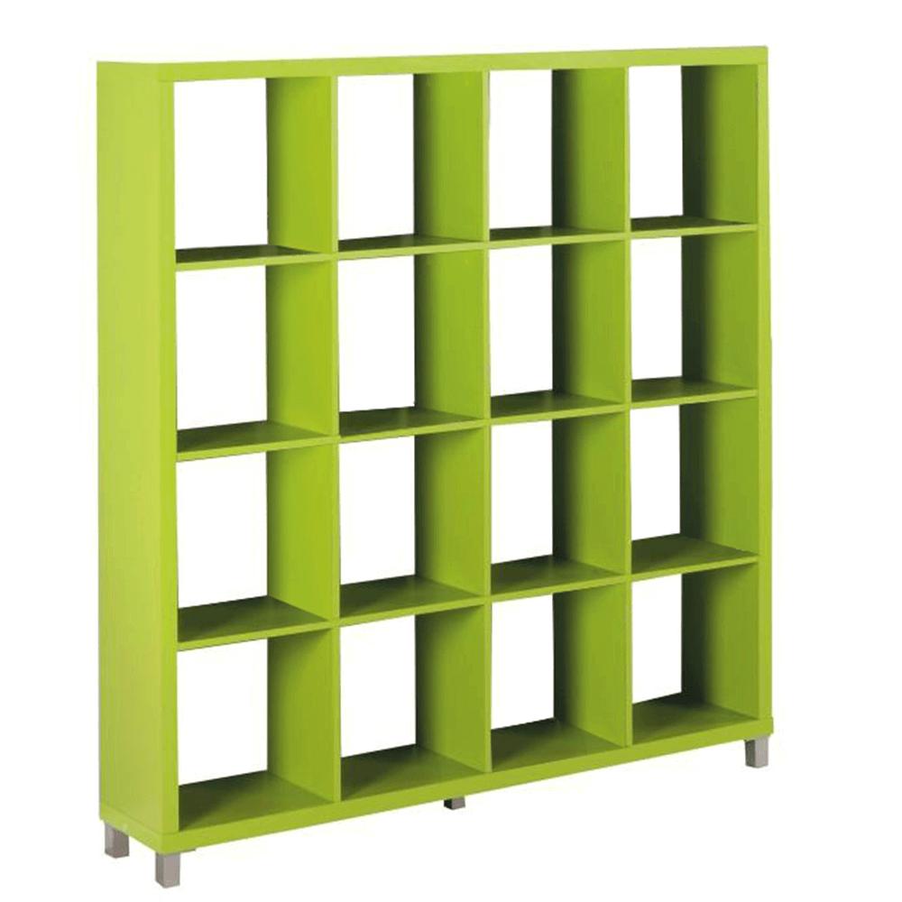 Regál, zelená, Tofi 6 NEW