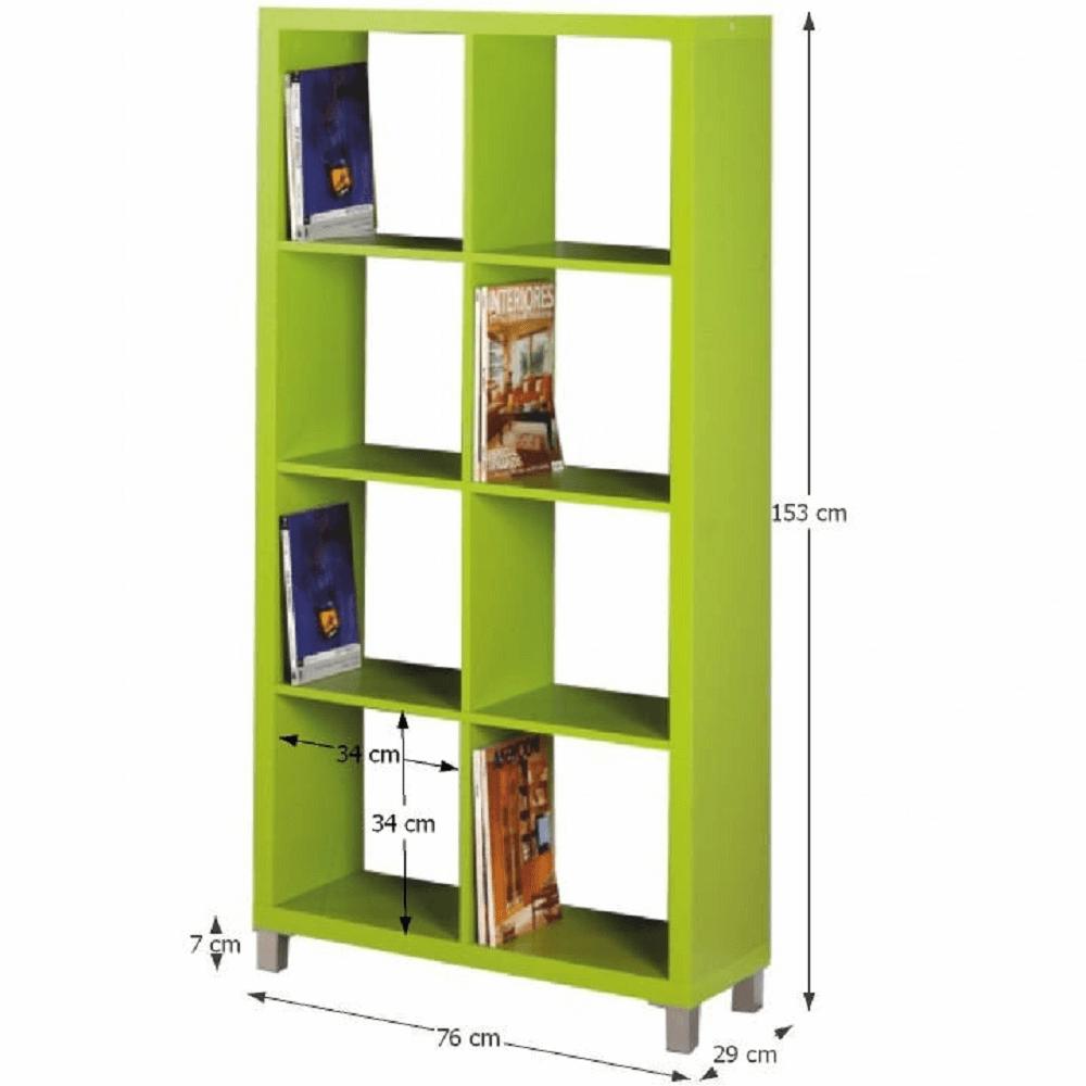 Regál, zelená, TOFI 3 NEW, TEMPO KONDELA