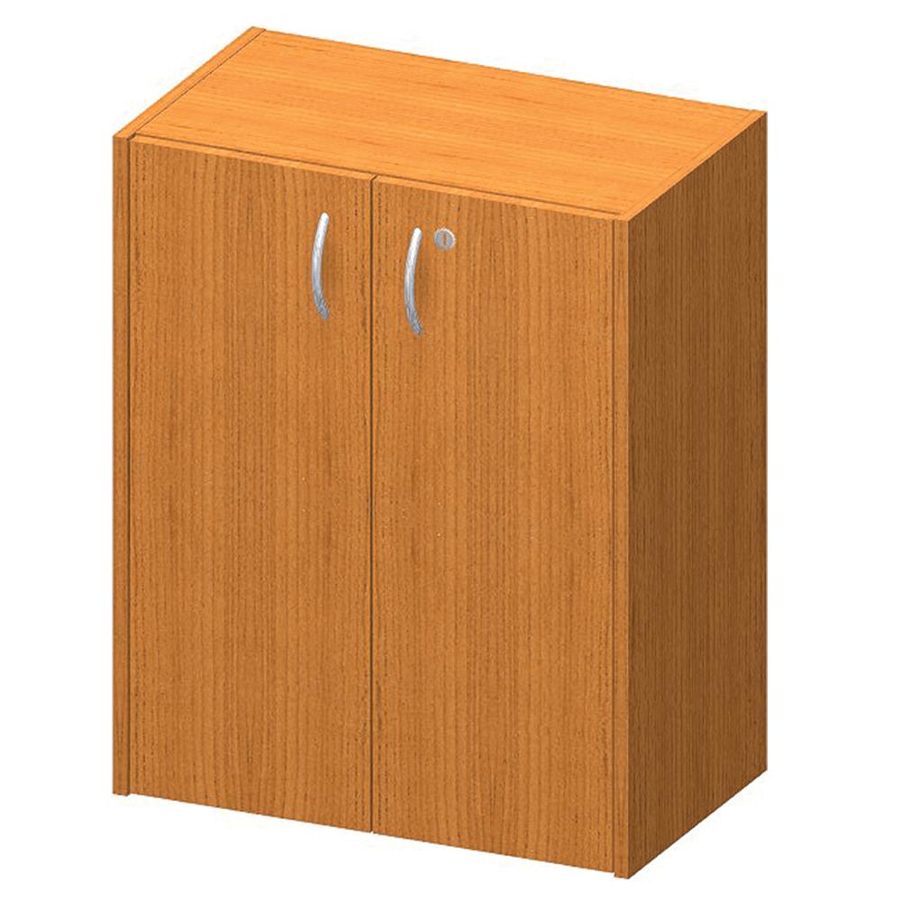 Nízká skříňka, DTD laminovaná, ABS hrany, třešeň, TEMPO ASISTENT NEW 011, TEMPO KONDELA