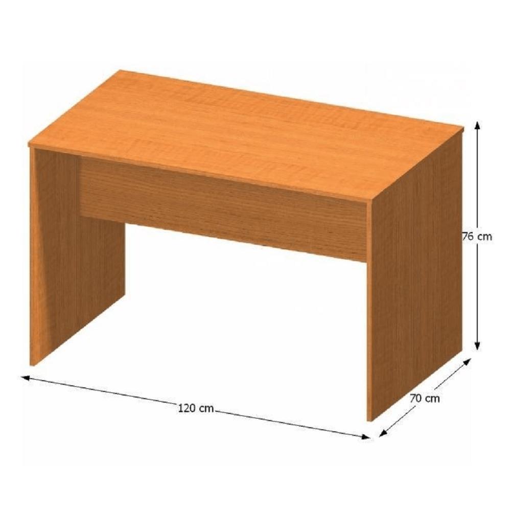 Íróasztal (tárgyalóterembe), cseresznye, TEMPO ASISTENT NEW 021 ZA