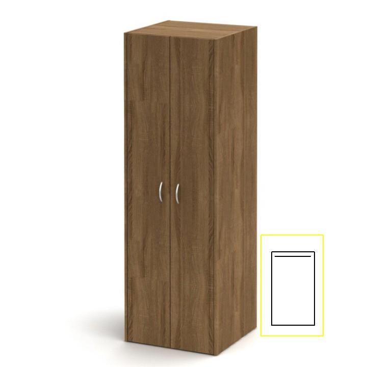 Akasztó szekrény, sötét bardolino, TEMPO ASISTENT NEW 005