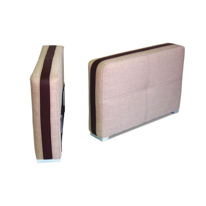 Kartámasz 15,Portland világos barna 22/csokoládé színű textilbőr, ROSANA