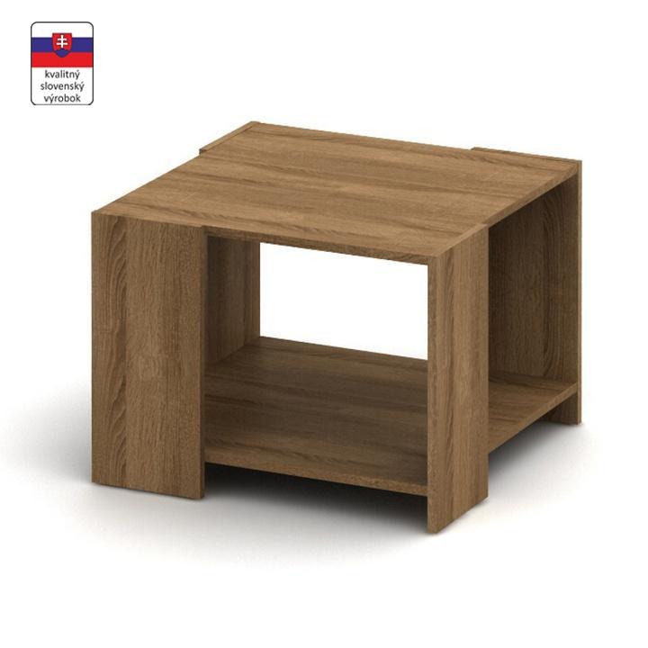 Konferenčný stolík, bardolino tmavé, TEMPO ASISTENT NEW 026