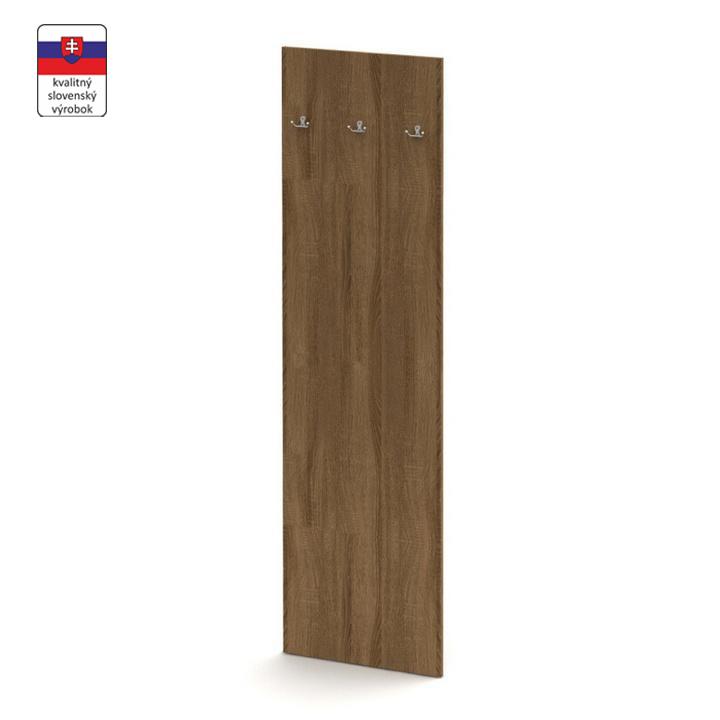 Vešiakový panel, bardolino tmavé, TEMPO ASISTENT NEW 030