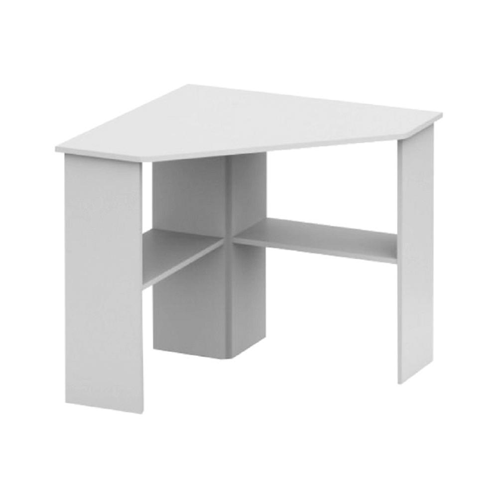 PC stůl, rohový, bílá, RONY NEW, TEMPO KONDELA