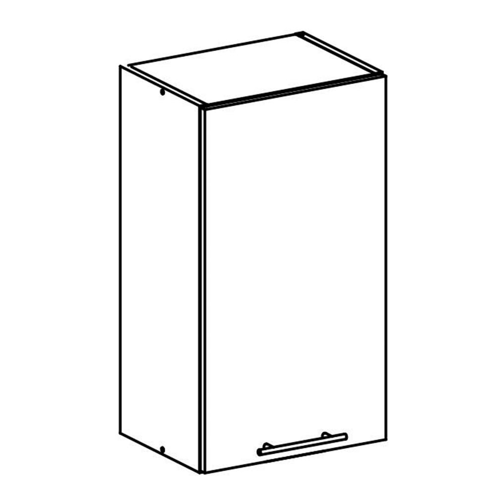 Felső szekrény, fehér, FABIANA W - 40
