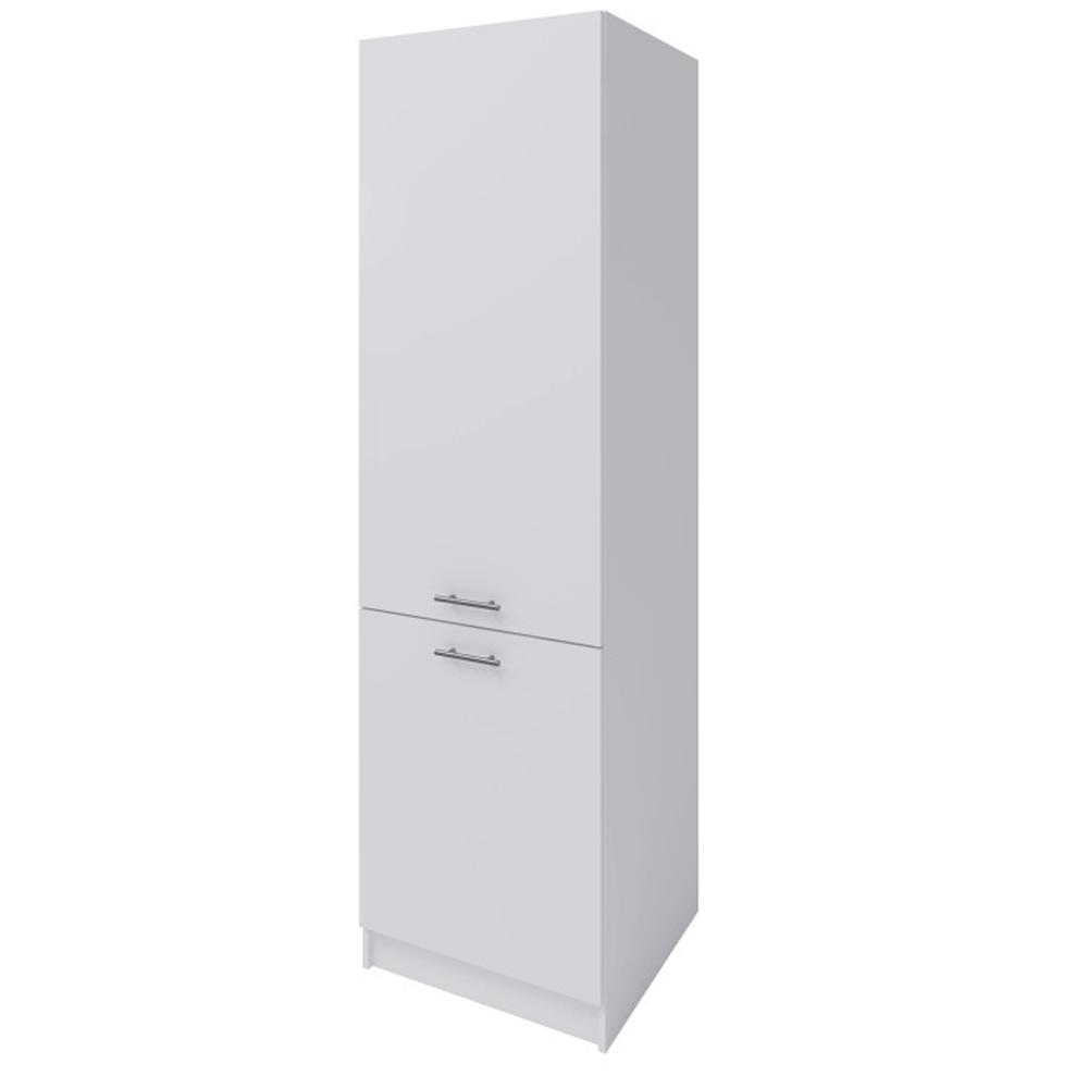 Potravinová skříňka, bílá, levá, FABIANA S60 / 210