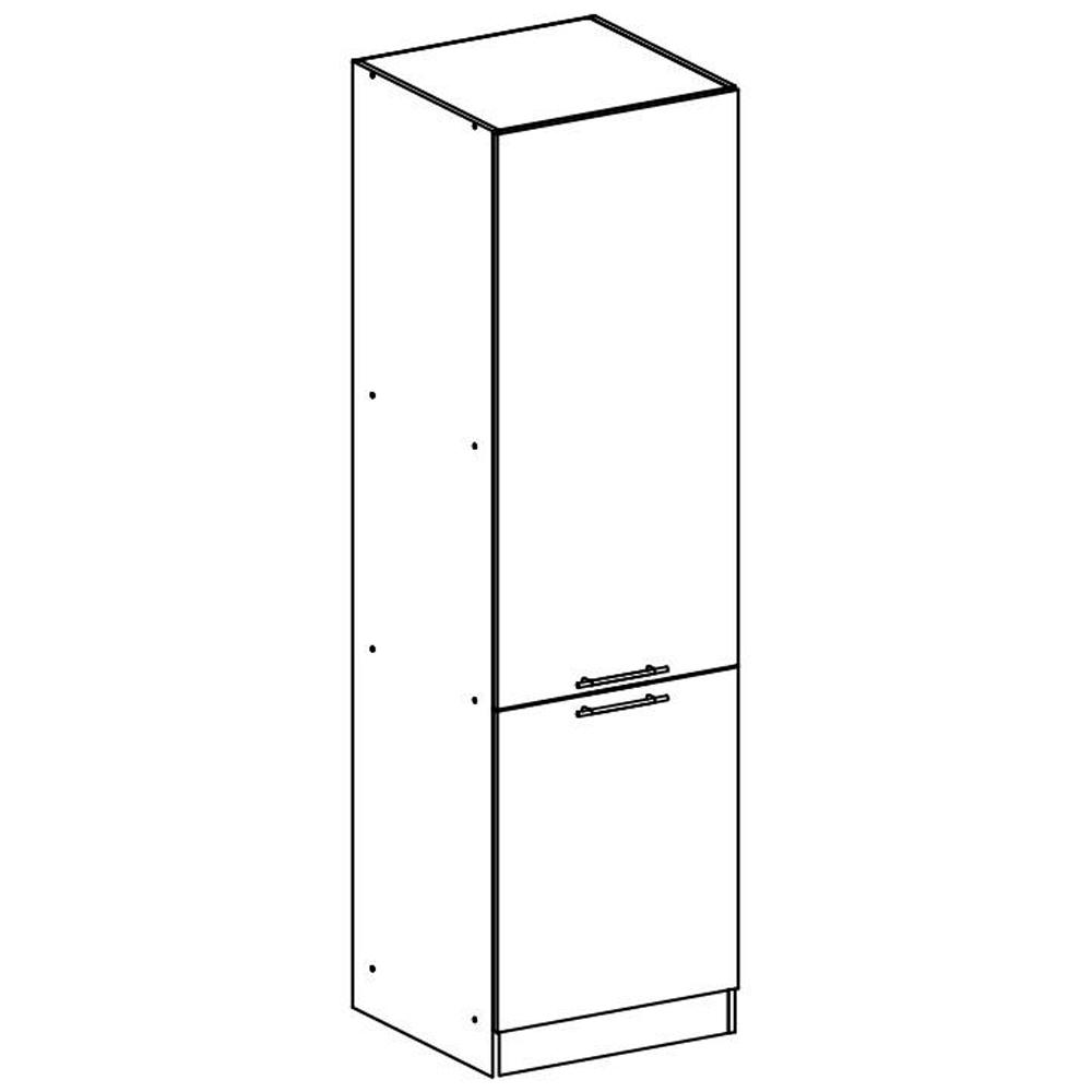 Potravinová skříňka, bílá, levá, FABIANA S60 / 210, TEMPO KONDELA