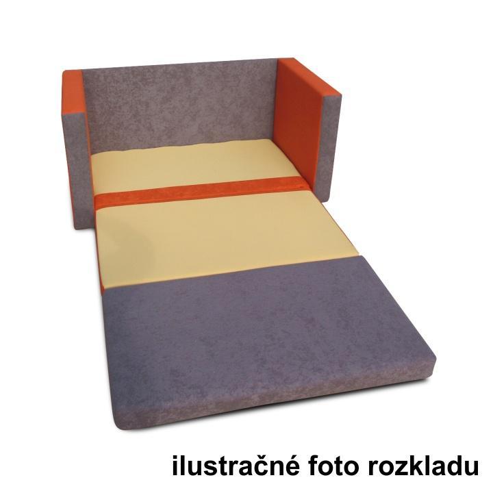 TEMPO KONDELA Rozkladacia pohovka, hnedá/zelená, KATARINA NEW - Tempo nábytek