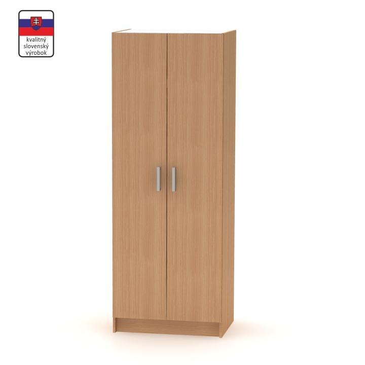2-dverová skriňa, vešiaková, buk, BETTY 7 BE07-009-00