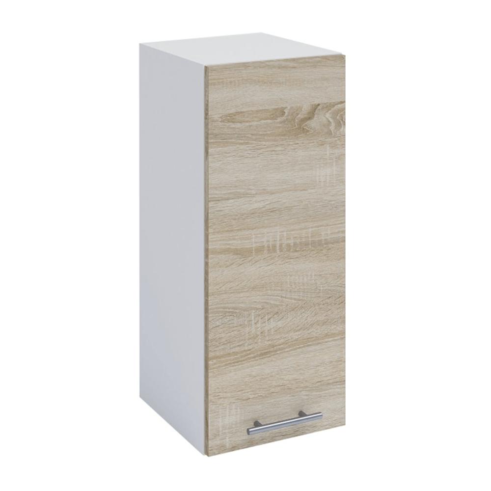 Horná skrinka, dub sonoma/biela, FABIANA W - 30