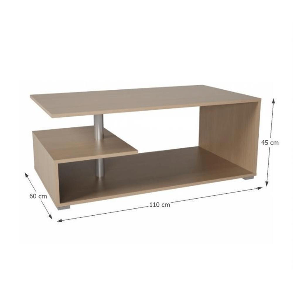 Konferenční stolek, buk, DORISA, TEMPO KONDELA