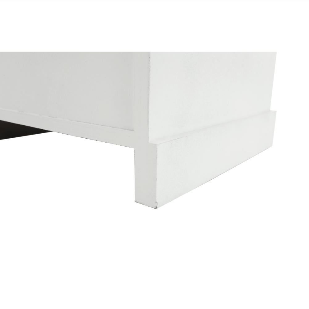 4-šuplíková komoda, bílá, BLANCO