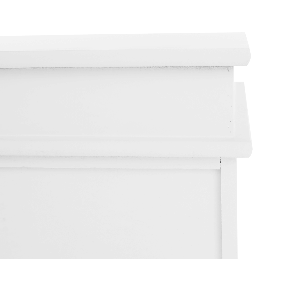 Lavice s úložným prostorem, bílá, BLANCO, TEMPO KONDELA