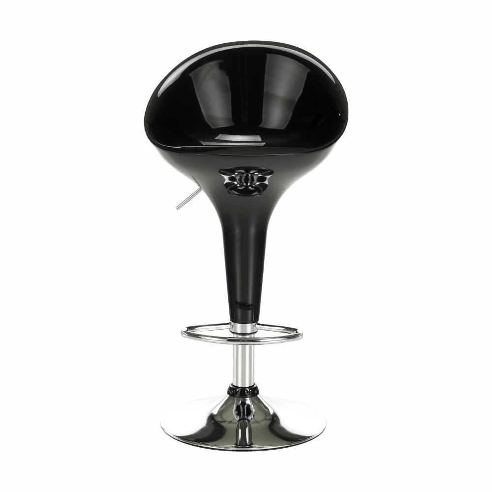 Barová židle, černá / chrom, ALBA NOVA, TEMPO KONDELA