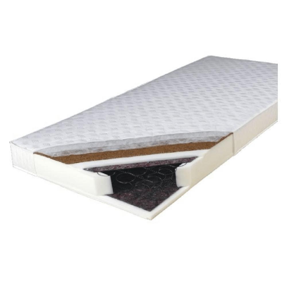 Kétoldalas rugós matrac, 180x200, KOKOS MEDIUM