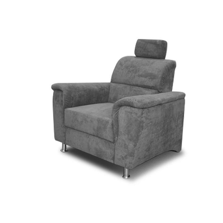 Fotel,szövet Matrix 17 szürke, SANTIAGO