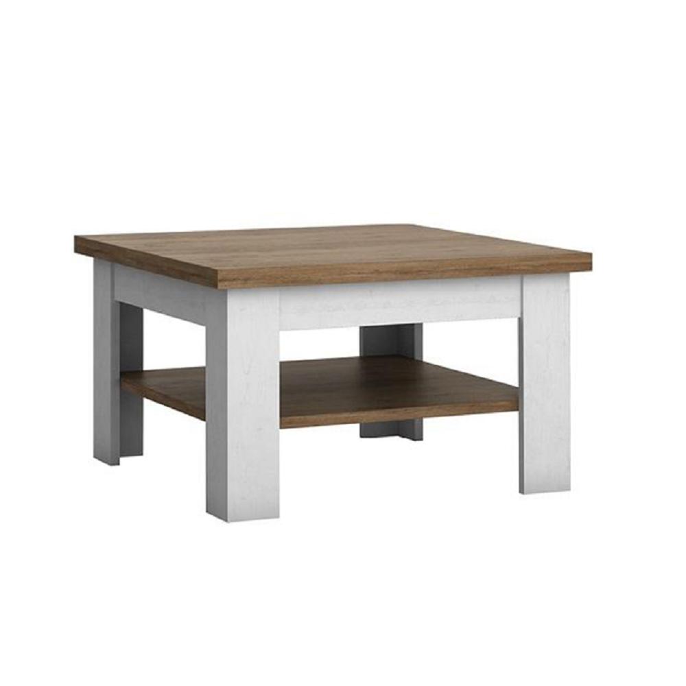 Konferenční stolek, DTD laminovaná, sosna Andersen / dub lefkas, PROVANCE, TEMPO KONDELA