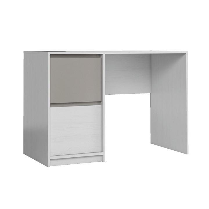 Pc stôl, DTD laminovaná, sosna Andersen/congo sivá, MANTI