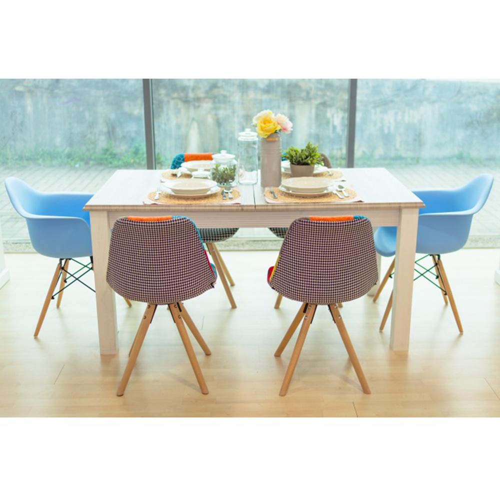 Rozkládací jídelní stůl, bílá, LIONA  LM 88, TEMPO KONDELA