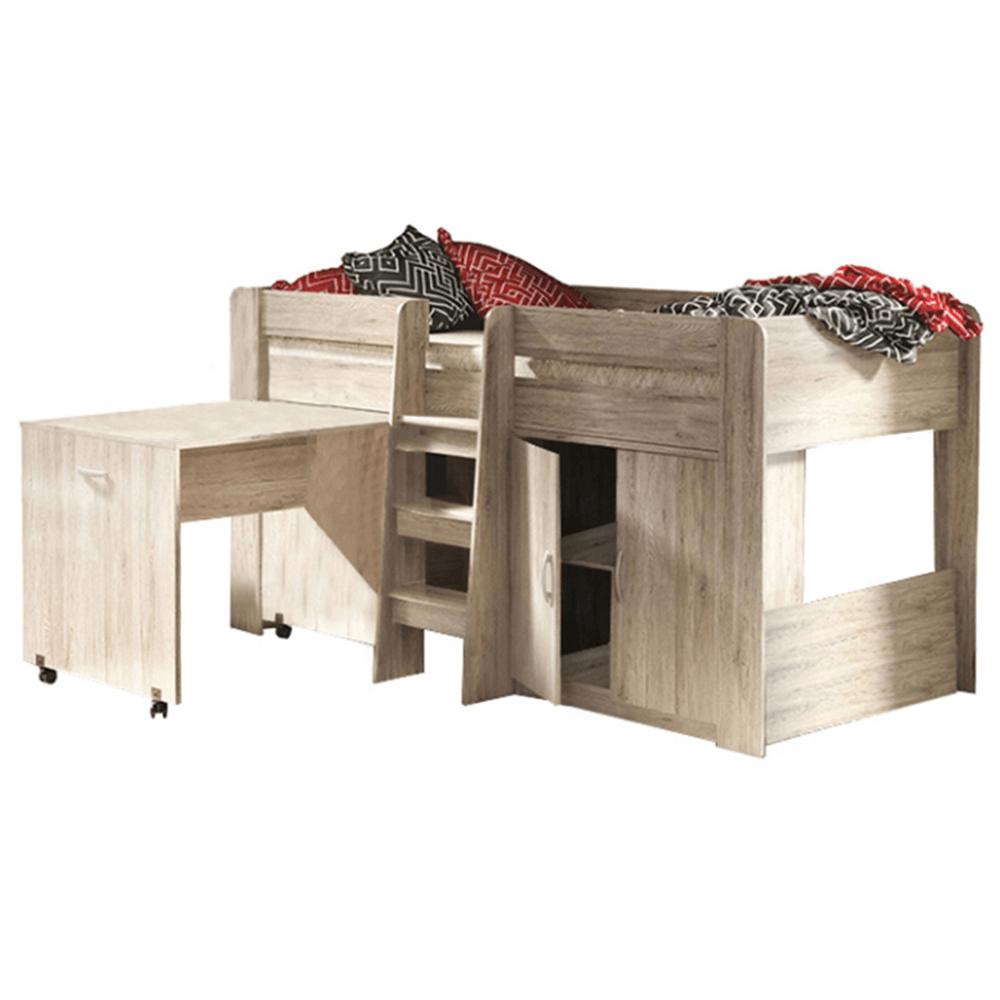 Víceúčelová postel do dětského pokoje, san remo, FANY