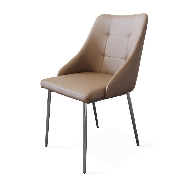 Stolička, svetlo hnedá, PAMFIL NEW