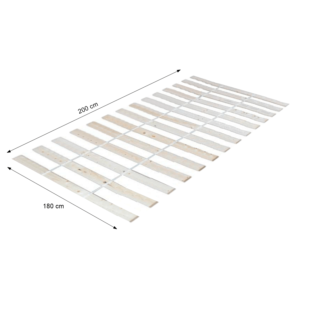 Léces ágyrács PLAZA, 180x200 cm