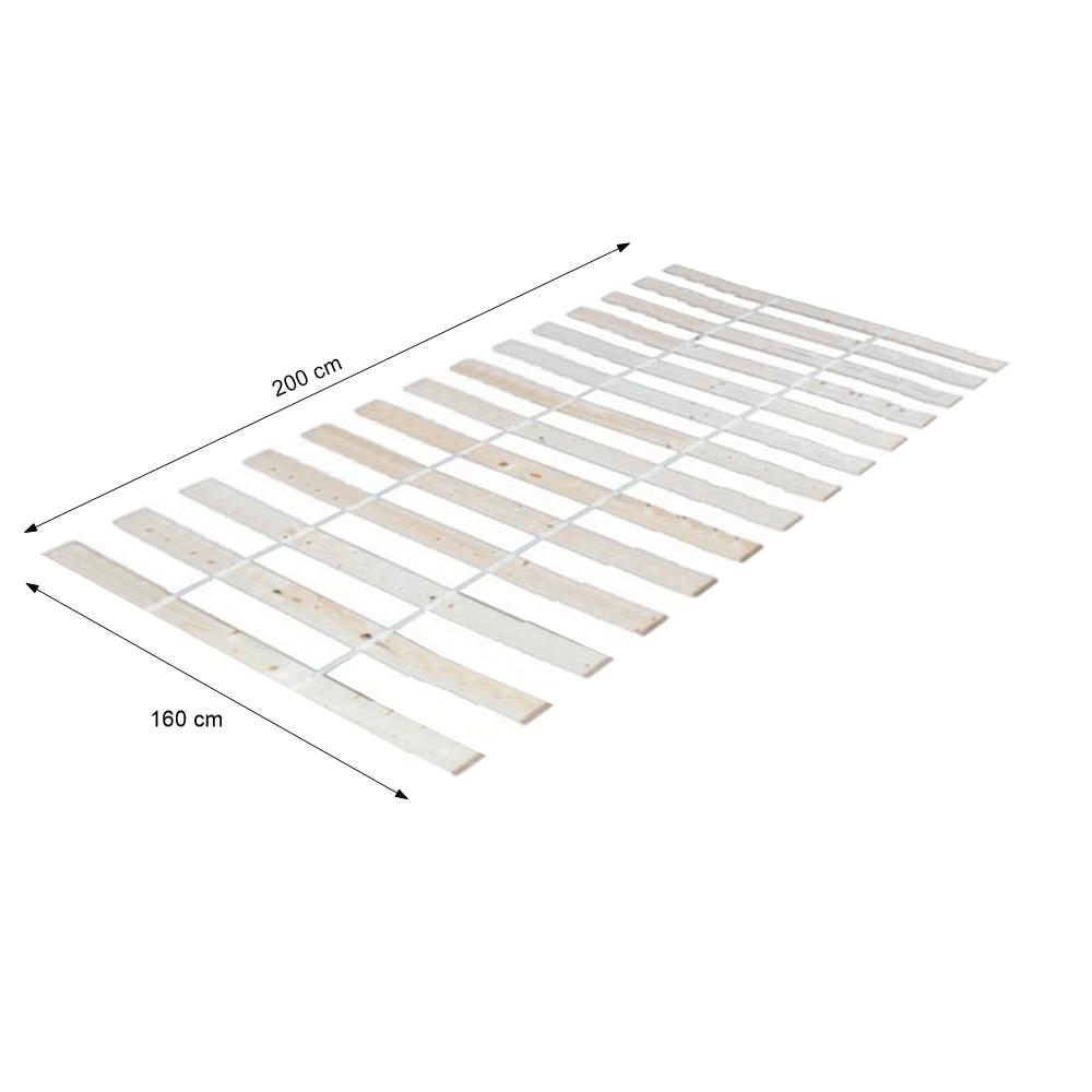 Léces ágyrács, PLAZA, 160x200 cm