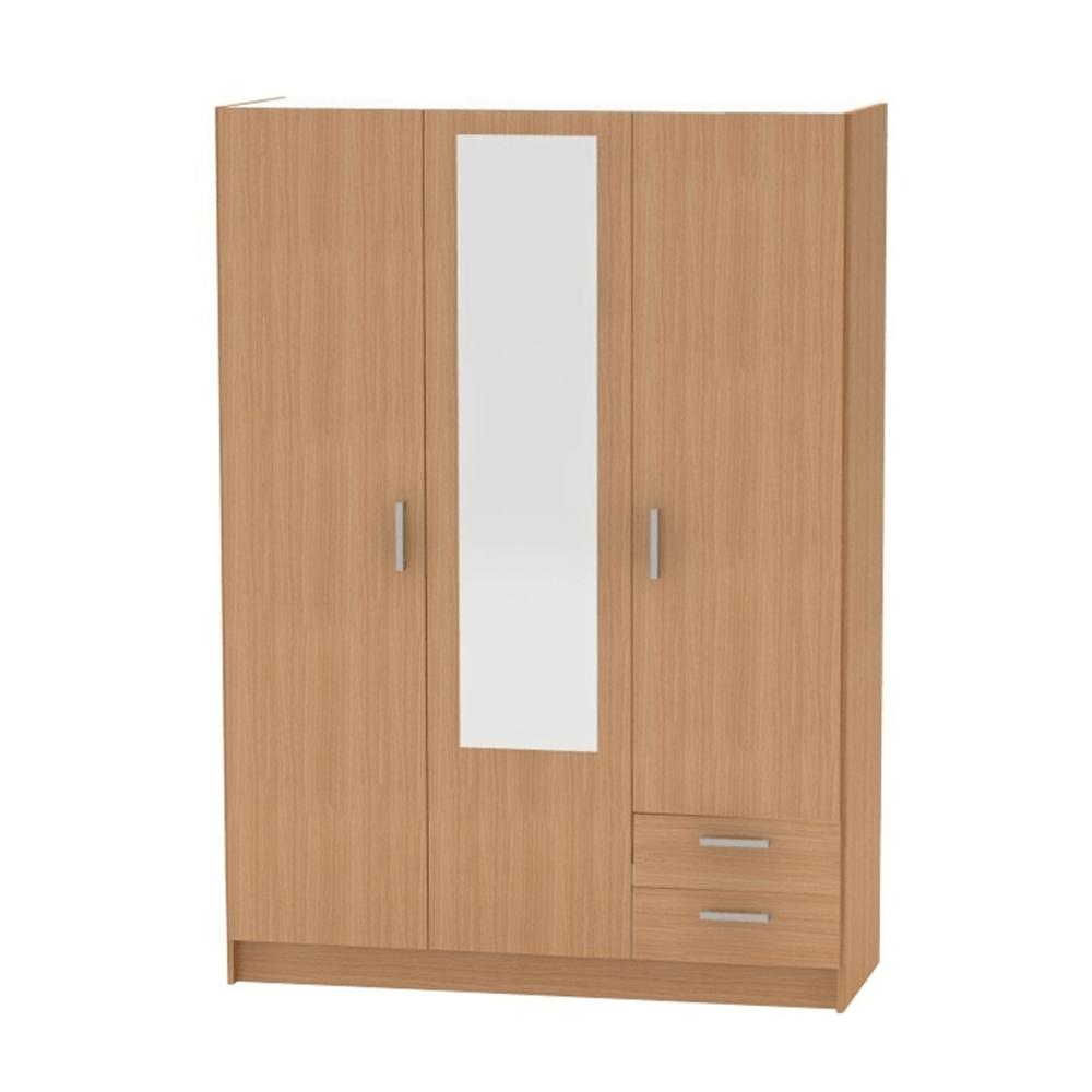 3-dverová skriňa, buk, BETTY 7 BE07-001-00