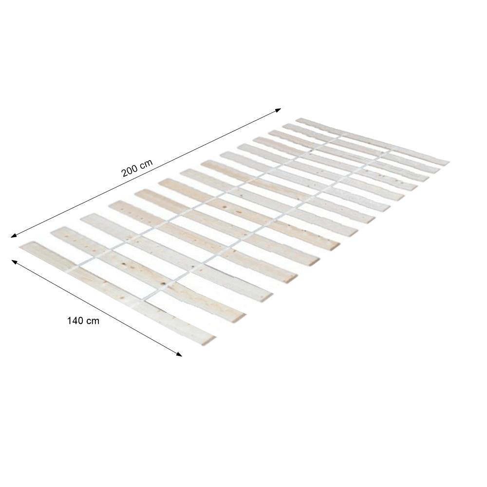 Léces ágyrács, 140x200 cm, PLAZA