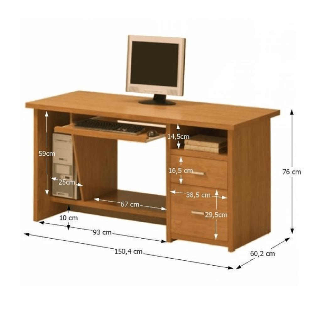 Masă PC, cireș, OSCAR PC1